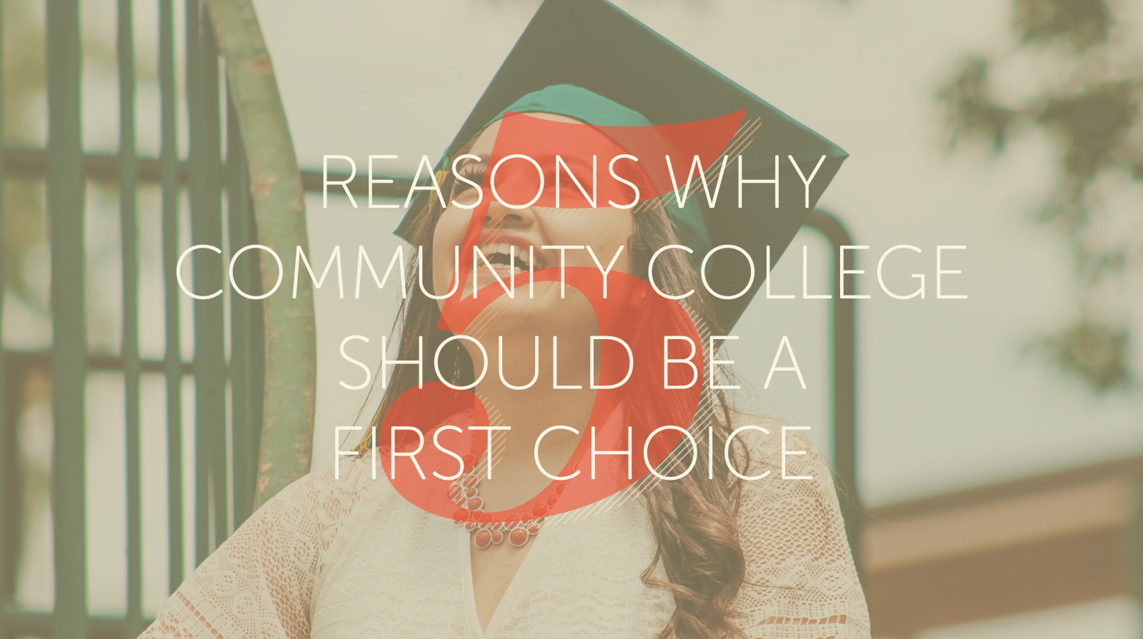 community college should be a first choice