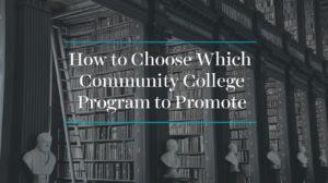 community college program