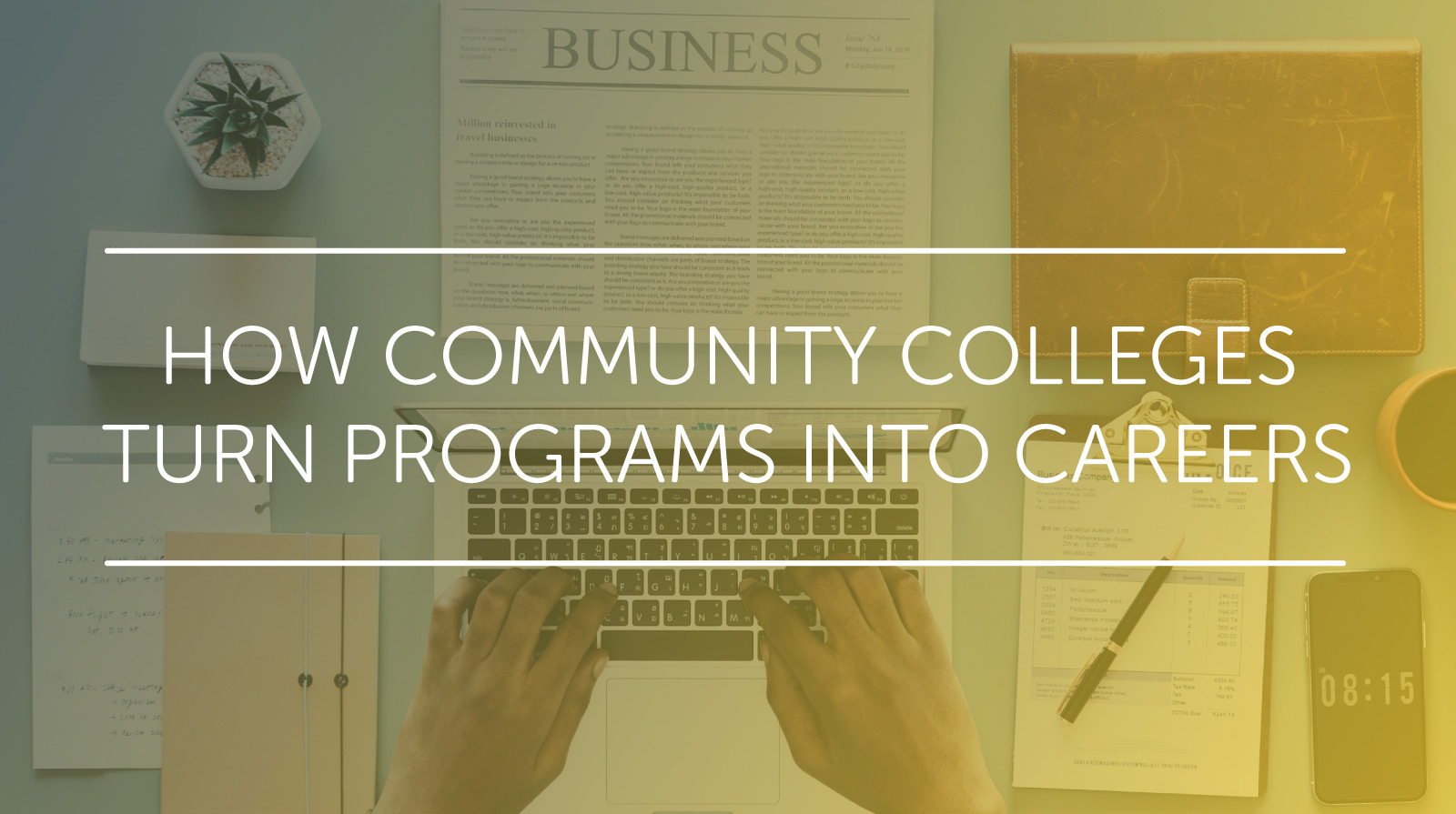 programs into careers