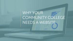 community college needs a website