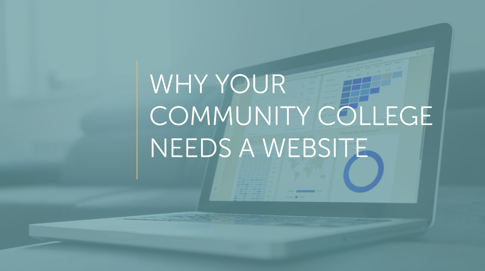 community college needs a website