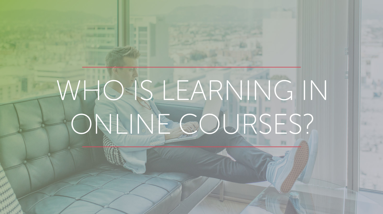 Who is Learning in Online Courses?