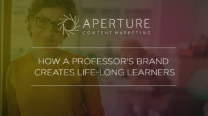 How a professor's brand creates life long learners