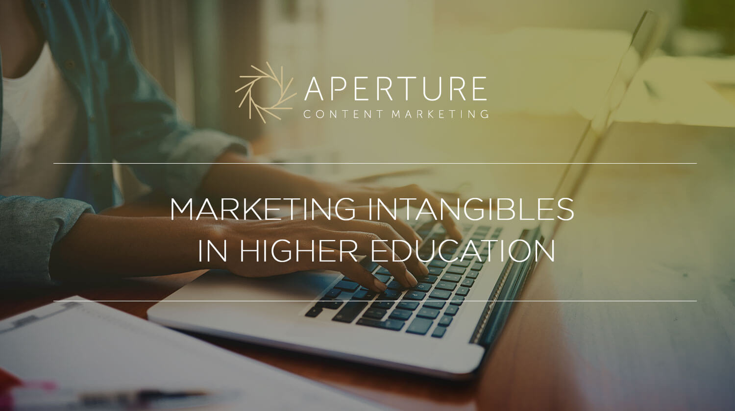 Marketing the Intangible in Higher Education