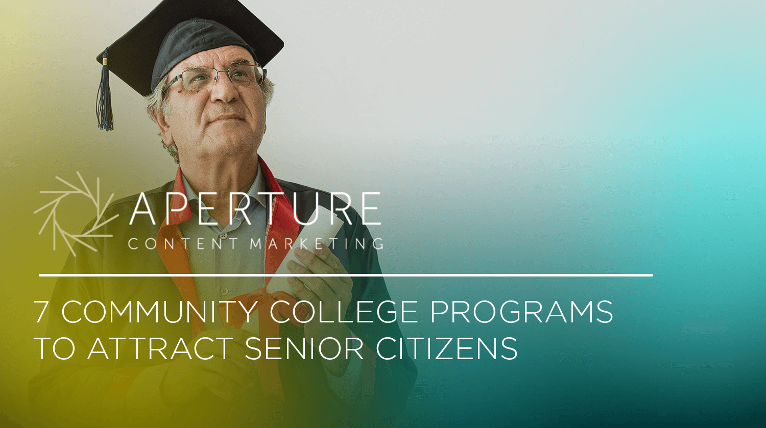 7 Community College Programs to Attract Senior Citizens