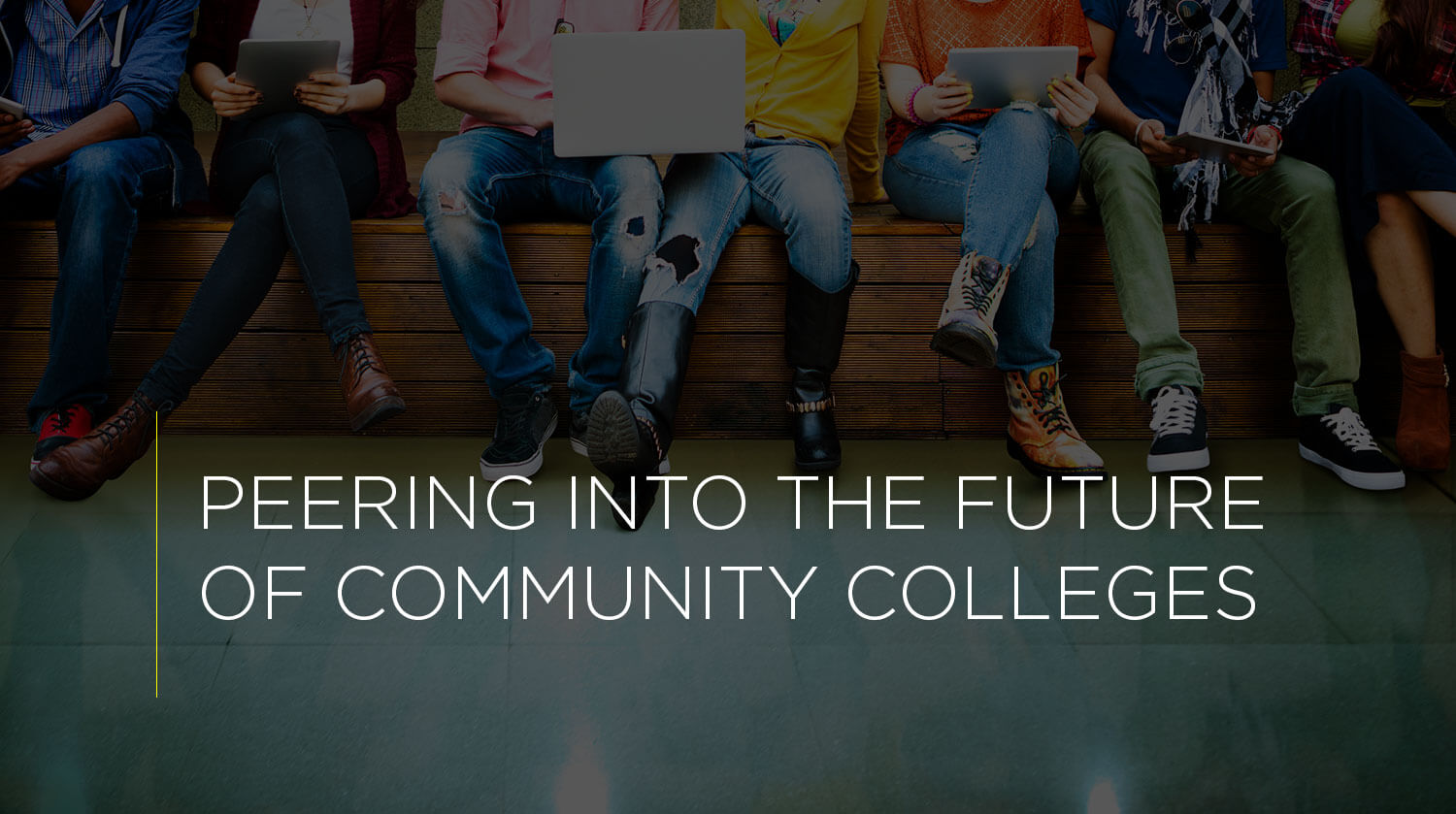 Peering into the Future of Community Colleges